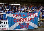 Rangers fans in Bristol