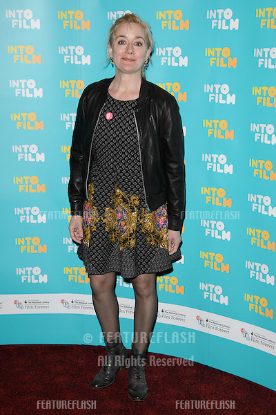 Sophie Thompson arrives for the Into Film Awards 2015 at the Empire Leicester Square, London. 24/03/2015 Picture by: Steve Vas / Featureflash