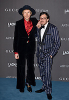 LOS ANGELES, USA. November 03, 2019: Beck & Guest at the LACMA 2019 Art+Film Gala at the LA County Museum of Art.<br /> Picture: Paul Smith/Featureflash