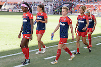 Houston, TX - Sunday Oct. 09, 2016: Joanna Lohman prior to the National Women's Soccer League (NWSL) Championship match between the Washington Spirit and the Western New York Flash at BBVA Compass Stadium. The Western New York Flash win 3-2 on penalty kicks after playing to a 2-2 tie.