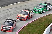 #46: Christian Eckes, Kyle Busch Motorsports, Toyota Tundra Craftsman, #13: Myatt Snider, ThorSport Racing, Ford F-150, #41: Ben Rhodes, ThorSport Racing, Ford F-150
