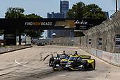 #26: Colton Herta, Andretti Autosport Honda, #5: Pato O'Ward, Arrow McLaren SP Chevrolet