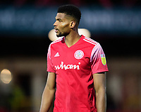 Accrington Stanley's Michael Nottingham<br /> <br /> Photographer Andrew Vaughan/CameraSport<br /> <br /> The EFL Sky Bet League One - Accrington Stanley v Lincoln City - Saturday 21st November 2020 - Crown Ground - Accrington<br /> <br /> World Copyright © 2020 CameraSport. All rights reserved. 43 Linden Ave. Countesthorpe. Leicester. England. LE8 5PG - Tel: +44 (0) 116 277 4147 - admin@camerasport.com - www.camerasport.com