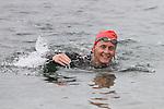 Grainne Vavasour at the Green Buoy 1KM Swim in Clogherhead....(Photo credit should read Jenny Matthews/NEWSFILE)...