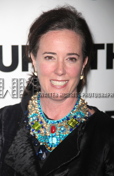 Kate Spade attending The New Group 2010 Gala Benefit honoring Robyn Goodman at B.B. King in Times Square, New York City.<br />