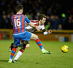 Andy Halliday fouled by Greg Tansey