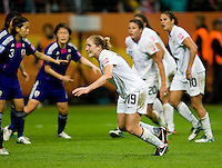 Rachel Buehler.  Japan won the FIFA Women's World Cup on penalty kicks after tying the United States, 2-2, in extra time at FIFA Women's World Cup Stadium in Frankfurt Germany.