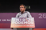 Spanish politician Inigo Errejon of Unidos Podemos party,during the press conference assessing the results of  the national elections of june 26 in Madrid, Spain. 26,06,2016. (ALTERPHOTOS/Rodrigo Jimenez)