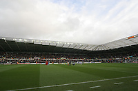 Pictured: A General View of the Liberty Stadium during todays game<br />
