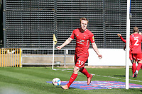 O's Danny Johnson celebrates after opening the scoring during Mansfield Town vs Leyton Orient, Sky Bet EFL League 2 Football at the One Call Stadium on 2nd April 2021