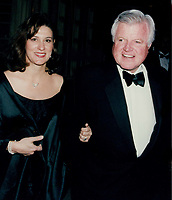 Ted Kennedy and wife 1993<br /> Photo By John Barrett-PHOTOlink.net / MediaPunch