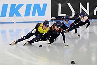 SCHAATSEN: HEERENVEEN: 06-12-2020, IJsstadion Thialf, Shorttrack, Invitation Cup, ©foto Martin de Jong