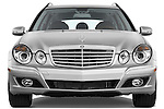 Straight front view of a 2009 Mercedes E Class Wagen 350