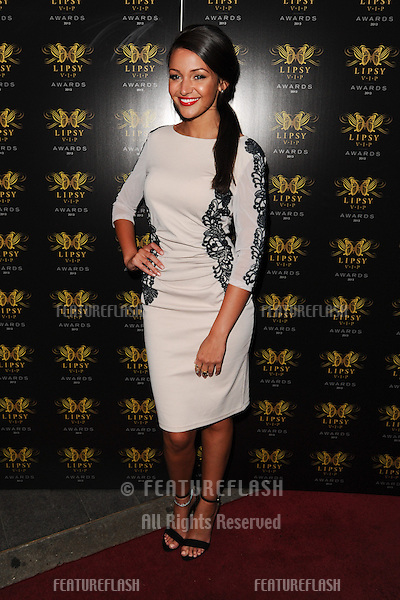 Michelle Keegan arriving for the Lipsy Fashion Awards,  at Dstrkt, London. 29/05/2013 Picture by: Steve Vas / Featureflash