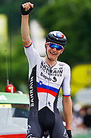 2nd July 2021; Le Creusot, France; MOHORIC Matej (SLO) of BAHRAIN VICTORIOUS during stage 7 of the 108th edition of the 2021 Tour de France cycling race, a stage of 248,1 kms between Vierzon and Le Creusot
