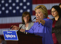 Hillary Clinton @ the Women For Hillary Organizing Event held @ West Los Angeles College.<br /> June 3, 2016