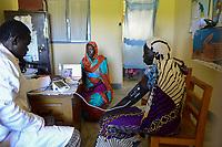 CHAD, Guéra, Mongo, village DADOUAR, health station / TSCHAD , Guéra, Mongo, Aura Caritas Gesundheitsstation in DADOUAR