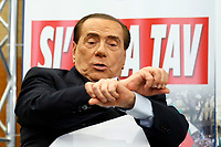 Silvio Berlusconi<br /> Rome December 7th 2018. Convention of Forza Italia center-right party.<br /> Foto Samantha Zucchi Insidefoto