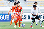 Jeju United Midfielder Kwon Soonhyung in action during the AFC Champions League 2017 Round of 16 match between Jeju United FC (KOR) vs Urawa Red Diamonds (JPN) at the Jeju Sports Complex on 24 May 2017 in Jeju, South Korea. Photo by Yu Chun Christopher Wong / Power Sport Images