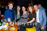 Enjoying the evening in Christy's Bar in Listowel on Thursday, l to r: Darren and Celina Mulvihill, Gillian Hennebry, Siobhan and John Kennelly (All Listowel).