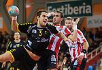 Liga ASOBAL.<br /> Fertiberia Puerto Sagunto vs Cuatro Rayas Valladolid.<br /> Polideportivo Municipal de El Puerto de Sagunto (Valencia-España).<br /> 1-12-2012