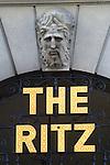 Ritz Hotel London SW1. UK