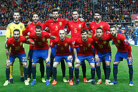 SPAIN v ISRAEL. FIFA WORLD CUP QUALIFYING ROUND.
