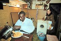 - immigrant from Senegal guest of a Italian family in Florence ....- immigrato dal Senegal ospite di una famiglia italiana a Firenze