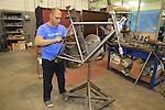 Titanium bike build De Rosa factory, Cusano Milanino, Italy. 30th September 2015.<br /> Picture: Eoin Clarke   Newsfile