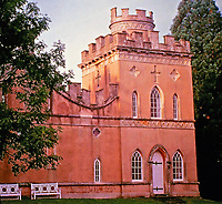 Clytha Castle is a folly in Monmouthshire, south east Wales,late eighteenth century fanciful Gothic.<br />
