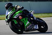30th March 2021; Barcelona, Spain; Superbikes, WorldSSP600 , day 2 testing at Circuit Barcelona-Catalunya;  R. Da Rosa rding Kawasaki ZX 6R from Orelac Racing