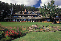 AJ4527, Inn, resort, Stowe, Vermont, Trapp Family Lodge in Stowe in the state of Vermont.