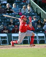 Blake Trahan - Cincinnati Reds 2019 spring training (Bill Mitchell)