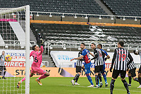 2nd February 2021; St James Park, Newcastle, Tyne and Wear, England; English Premier League Football, Newcastle United versus Crystal Palace; Gary Cahill of Crystal Palace  wins the header and scores Crystal Palace 2nd goal for 1-2 in the 25th minute