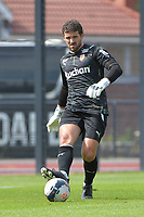 goalkeeper Jean Louis Leca (16) of Rc Lens pictured during a friendly soccer game between Racing Club De Lens and Standard de Liege  during the preparations for the 2021-2022 season , on wednesday 7 of July 2021 in Billy Montigny , France . PHOTO DIRK VUYLSTEKE   SPORTPIX