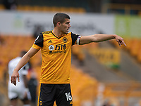 Wolverhampton Wanderers' Conor Coady <br /> <br /> Photographer David Horton/CameraSport<br /> <br /> The Premier League - Wolverhampton Wanderers v Fulham - Sunday 4th October 2020 - Molineux Stadium - Wolverhampton<br /> <br /> World Copyright © 2020 CameraSport. All rights reserved. 43 Linden Ave. Countesthorpe. Leicester. England. LE8 5PG - Tel: +44 (0) 116 277 4147 - admin@camerasport.com - www.camerasport.com
