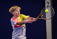 Hilversum, Netherlands, December 2, 2018, Winter Youth Circuit Masters, Pieter de Lange (NED) winner boys 12 years<br /> Photo: Tennisimages/Henk Koster