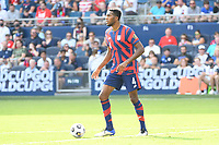 KANSAS CITY, KS - JULY 18: Donovan Pines #4 of the United States during a game between Canada and USMNT at Children's Mercy Park on July 18, 2021 in Kansas City, Kansas.