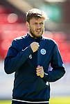 St Johnstone Training…10.05.18<br />Murray Davidson pictured during training ahead of the final game of the season against Ross County<br />Picture by Graeme Hart.<br />Copyright Perthshire Picture Agency<br />Tel: 01738 623350  Mobile: 07990 594431