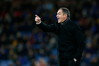 Swansea City manager Paul Clement points and shouts during the Premier League match between Burnley and Swansea City at Turf Moor, Burnley, England, UK. Saturday 18 November 2017