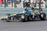 Vitaly Petrov (21) driver of the Caterham F1 TeamRenault  in action during the Formula 1 United States Grand Prix practice session at the Circuit of the Americas race track in Austin,Texas. The Formula 1 United States Grand Prix will take place on 18 November 2012....