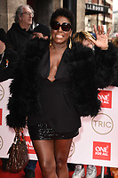 Mica Paris<br /> arriving for theTRIC Awards 2020 at the Grosvenor House Hotel, London.<br /> <br /> ©Ash Knotek  D3561 10/03/2020