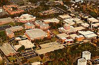 University of North Carolina Charlotte aerial photography - October 2010