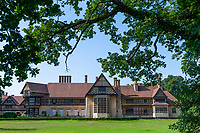 Schloss Cecilienhof, Weltkulturerbe und Schauplatz der Potsdamer Konferenz, Neuer Garten, Potsdam, Brandenburg, Deutschland