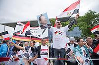 2015/06/03 Berlin | Jubel für Ägyptischen Präsidenten