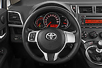 Steering wheel view of a 2011 Toyota Verso-S Terra 5 Door Hatchback