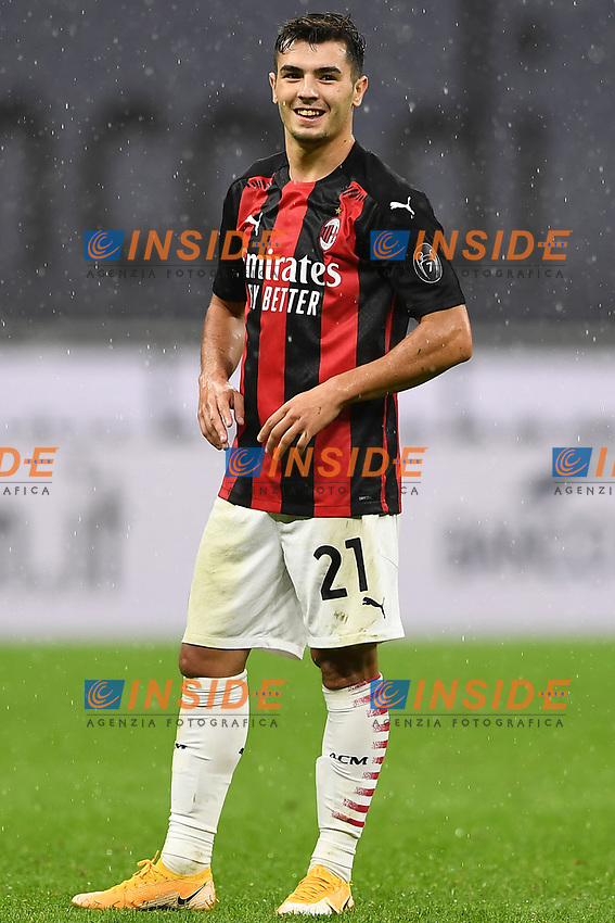 Brahim Diaz<br /> Serie A football match between AC Milan and Spezia Calcio at San Siro Stadium in Milano  (Italy), October 4th, 2020. Photo Image Sport / Insidefoto