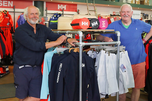 Ian O'Meara and Viking Marine's Alan Usher