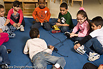 Education preschool 4 year olds circle time web with string activity horizontal