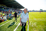 Kerry Manager Peter Keane after the Munster GAA Football Senior Championship Final match between Kerry and Cork at Fitzgerald Stadium in Killarney on Sunday.